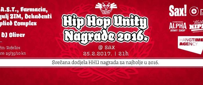 Mixeta vas vodi na dodjelu Hip Hop Unity nagrada