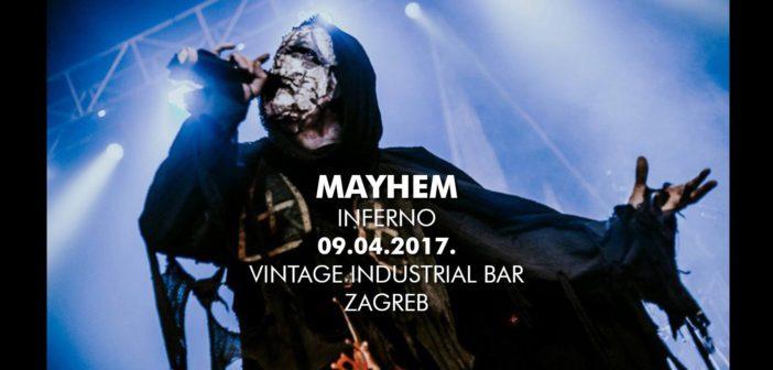 Black metal junaci Mayhem dolaze u zagrebački Vintage Industrial Bar