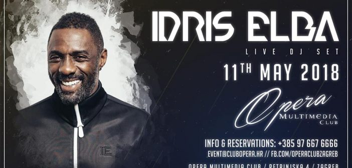 Slavni glumac Idris Elba održat će DJ set u Zagrebu