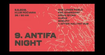Antifa Night u Močvari
