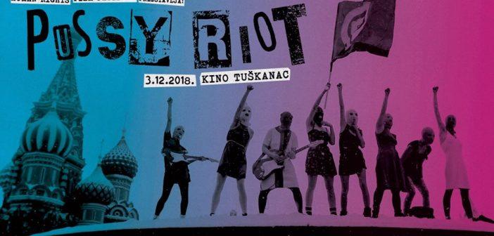 Pussy Riot premijerno u Zagrebu