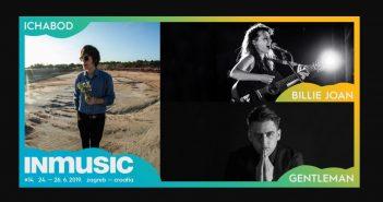 Kantautorske snage Billie Joan, Gentleman i Ichabod nova imena 14. INmusic festivala