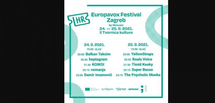 Objavljena satnica prvog izdanja Europavox festivala 2021.