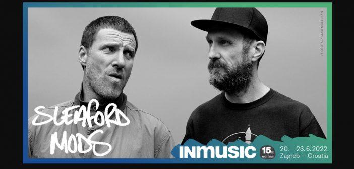 Sleaford Mods novo pojačanje 15. INmusic festivala